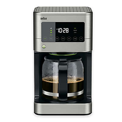 Braun® Brewsense Touch Screen 12-Cup Coffee Maker in Stainless Steel