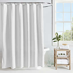 Microsculpt Arrow Shower Curtain in White