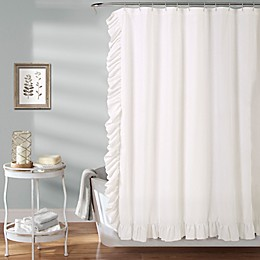 Reyna Shower Curtain in White
