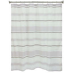 Kayden 70-Inch x 72-Inch Shower Curtain in Purple