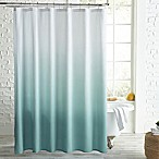 Peri Home Ombre Microsculpt™ Shower Curtain in Aqua