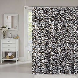 Leopard Printed Shower Curtain