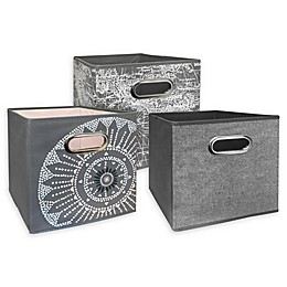 Relaxed Living 11-Inch Collapsible Storage Bin Collection