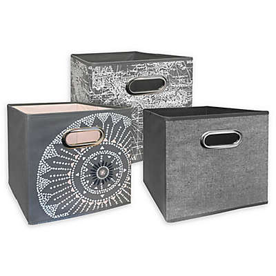 Relaxed Living 11-Inch Collapsible Storange Bin Collection