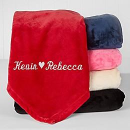 The Warmth of Love Fleece Blanket