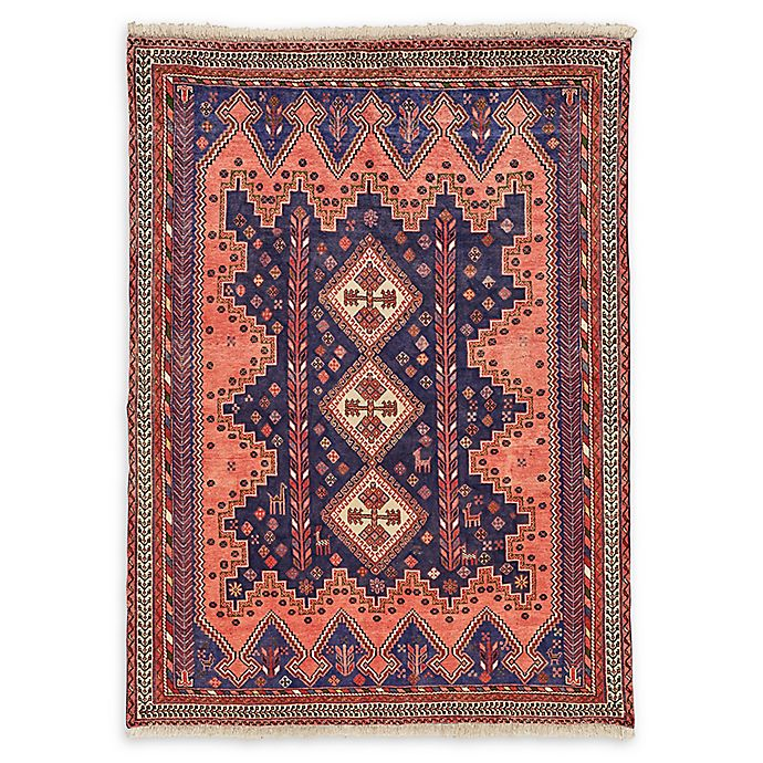 Feizy Rugs Antique Afshar 5 2 X 7 1 Area Rug In Coral Blue