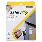 Safety 1st® 4-Pack Adhesive Magnetic Locks with Key