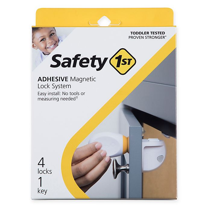 Alternate image 1 for Safety 1st® Adhesive Magnetic Lock with Key
