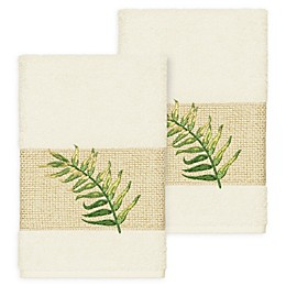 Linum Home Textiles Zoe Tropical Hand Towels (Set of 2)