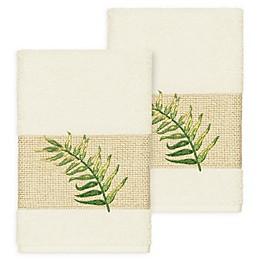 Linum Home Textiles Zoe Tropical Hand Towels (Set of 2)