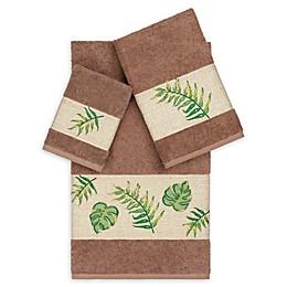 Linum Home Textiles Zoe 3-Piece Tropical Towel Set