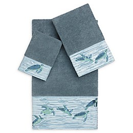 Linum Home Textiles Mia Sea Turtle Bath Towel Collection