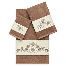 Linum Home Textiles Bella 3-Piece Seashell Towel Set