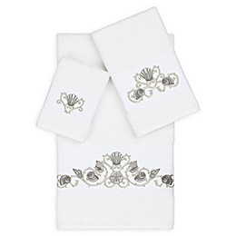 Linum Home Textiles Bella 3-Piece Seashell Towel Set