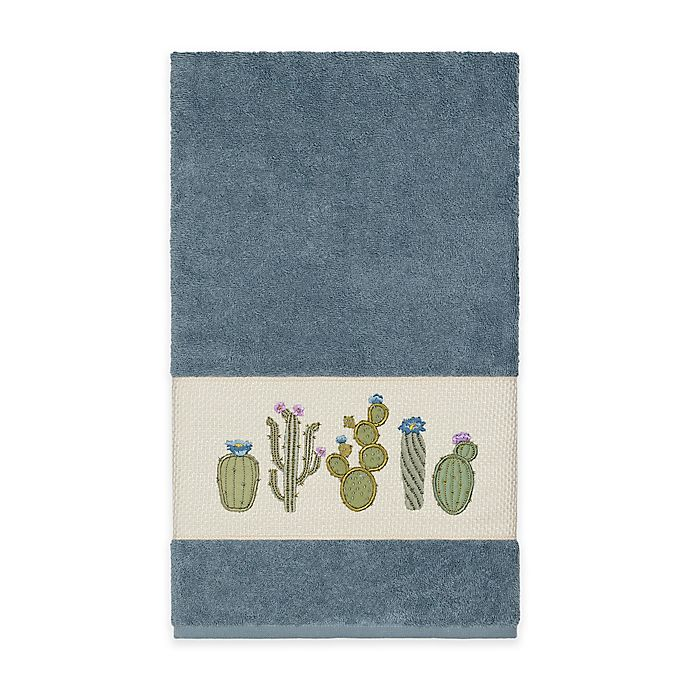 Alternate image 1 for Linum Home Textiles Mila Bath Towel in Teal