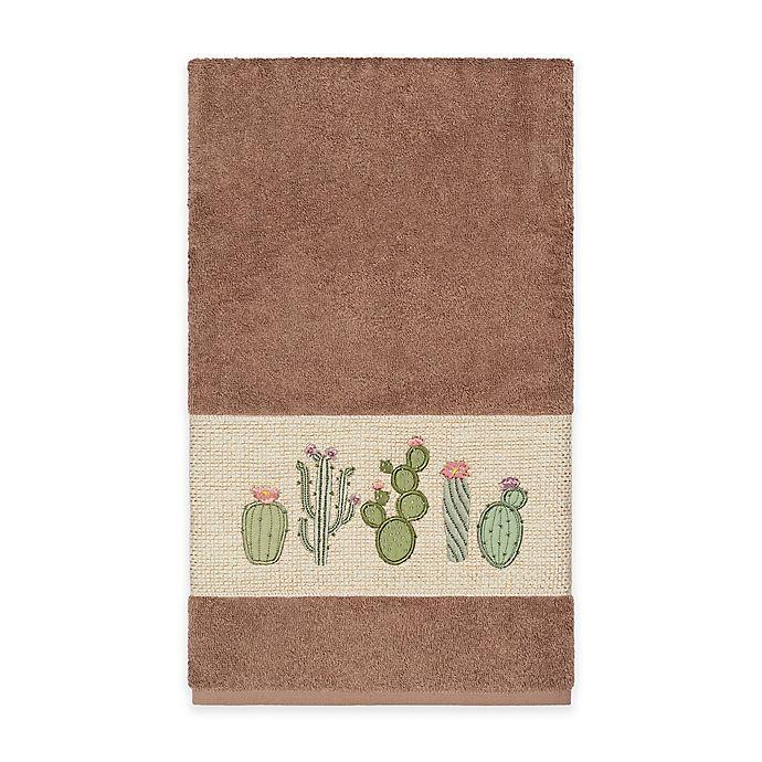 Alternate image 1 for Linum Home Textiles Mila Bath Towel in Latte