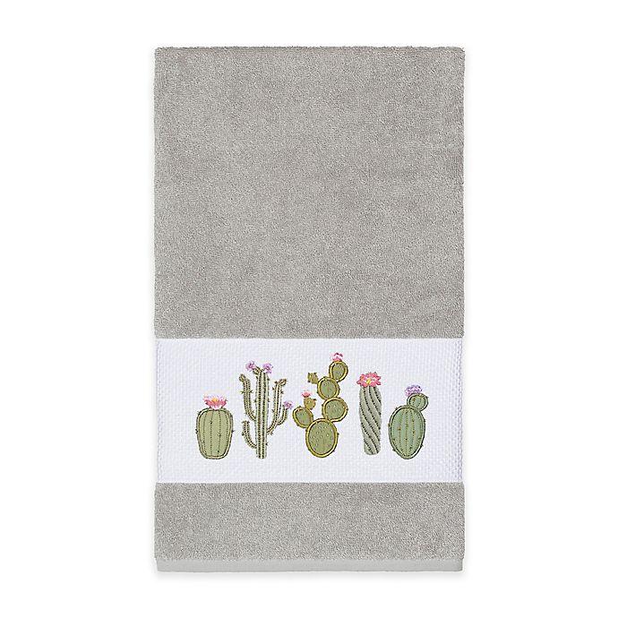 Alternate image 1 for Linum Home Textiles Mila Bath Towel in Light Grey