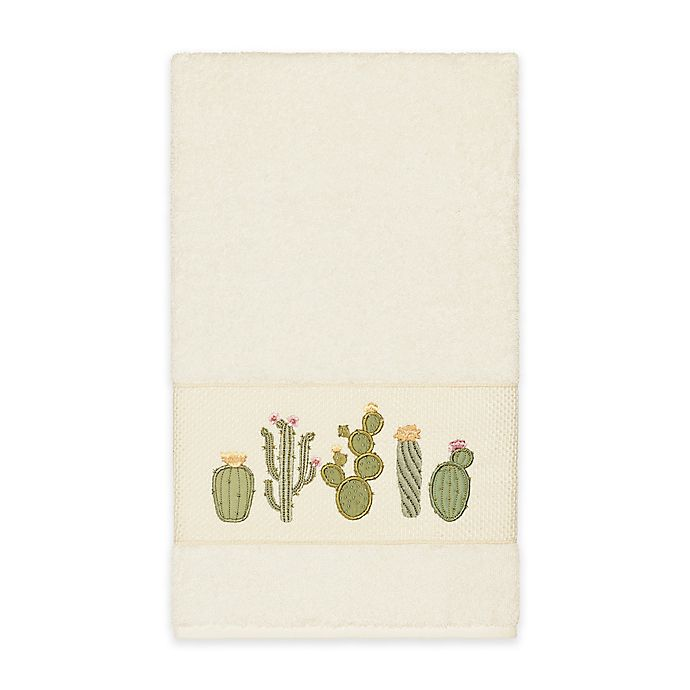Alternate image 1 for Linum Home Textiles Mila Bath Towel in Cream