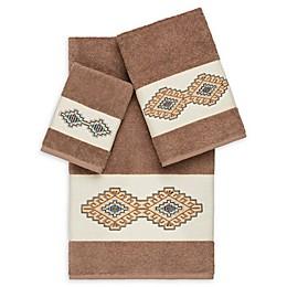 Linum Home Textiles 3-Piece Gianna Bath Towel Set