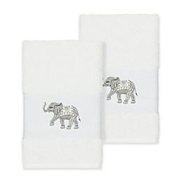Linum Home Textiles Quinn Hand Towels (Set of 2)