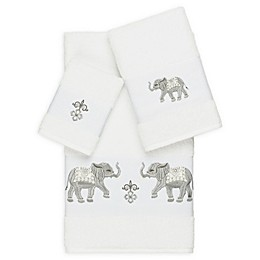 Linum Home Textiles 3-Piece Quinn Bath Towel Set