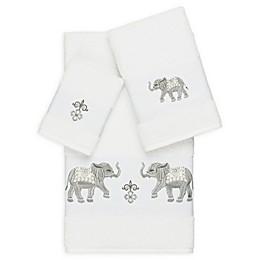 Linum Home Textiles 3-Piece Quinn Bath Towel Set