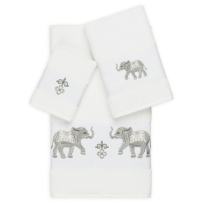 Alternate image 1 for Linum Home Textiles 3-Piece Quinn Bath Towel Set
