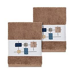 Linum Home Textiles Khloe Washcloths (Set of 2)