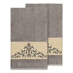 Linum Home Textiles Scarlet Crest Bath Towel Collection