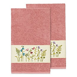 Linum Home Textiles Serenity Wildflower Bath Towels (Set of 2)