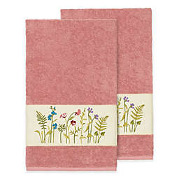 Linum Home Textiles Serenity Wildflower Bath Towel Collection