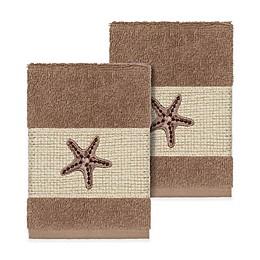 Linum Home Textiles Lydia Washcloths (Set of 2)