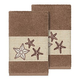 Linum Home Textiles Lydia Hand Towels (Set of 2)