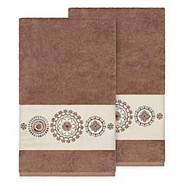 Linum Home Textiles Isabella Bath Towels (Set of 2)