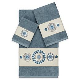 Linum Home Textiles Isabella 3-Piece Bath Towel Set