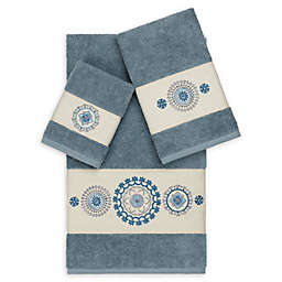 Linum Home Textiles Isabella 3-Piece Bath Towel Set