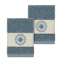 Linum Home Textiles Isabella Washcloths (Set of 2)