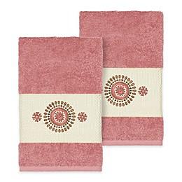 Linum Home Textiles Isabella Hand Towels (Set of 2)