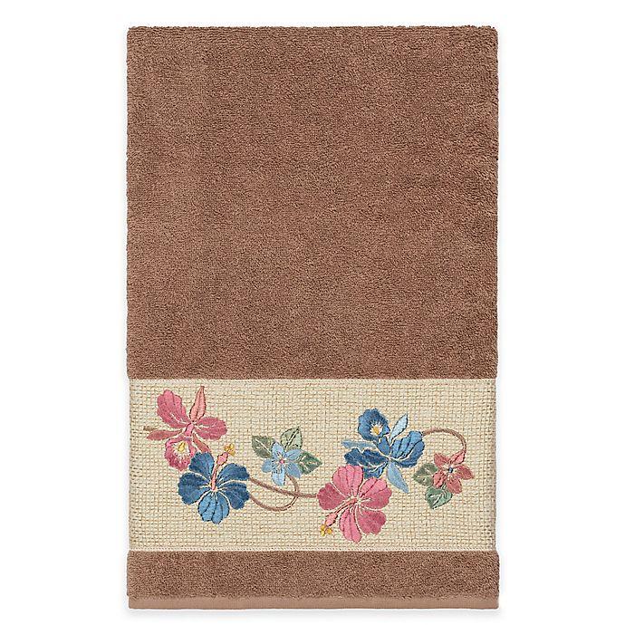 Alternate image 1 for Linum Home Textiles Caroline Bath Towel