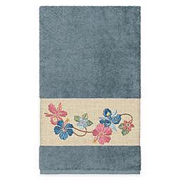 Linum Home Textiles Caroline Bath Towel in Teal