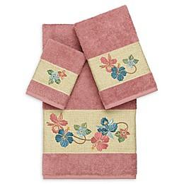 Linum Home Textiles Caroline 3-Piece Bath Towel Set