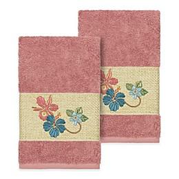 Linum Home Textiles Caroline Hand Towel (Set of 2)