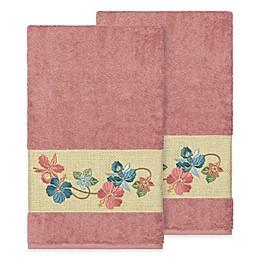 Linum Home Textiles Caroline Bath Towel (Set of 2)