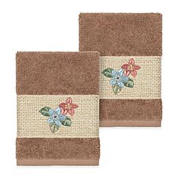 Linum Home Textiles Caroline Washcloth (Set of 2)
