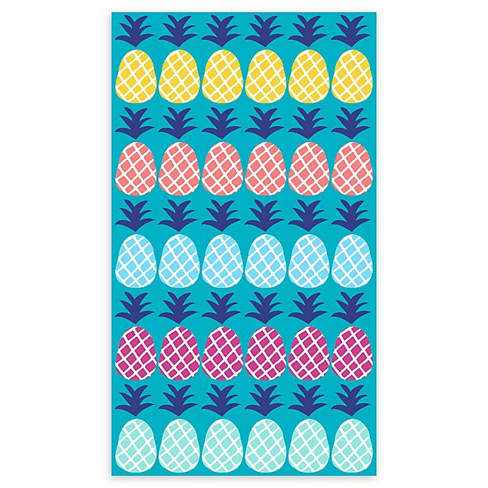 Alternate image 1 for Pineapple Beach Towel