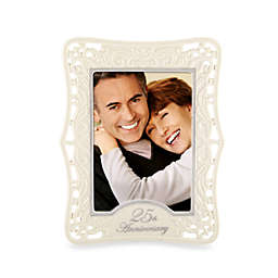 Lenox® 25th Anniversary 5-Inch x 7-Inch Picture Frame