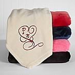 Couple in Love Fleece Throw Blanket