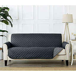 Great Bay Home Kaylee Reversible Quilted Sofa Protector