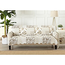 Great Bay Home Patchwork Scalloped Sofa Protector