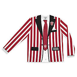 Indiana University Men's Striped Faux Suit Long Sleeve T-Shirt
